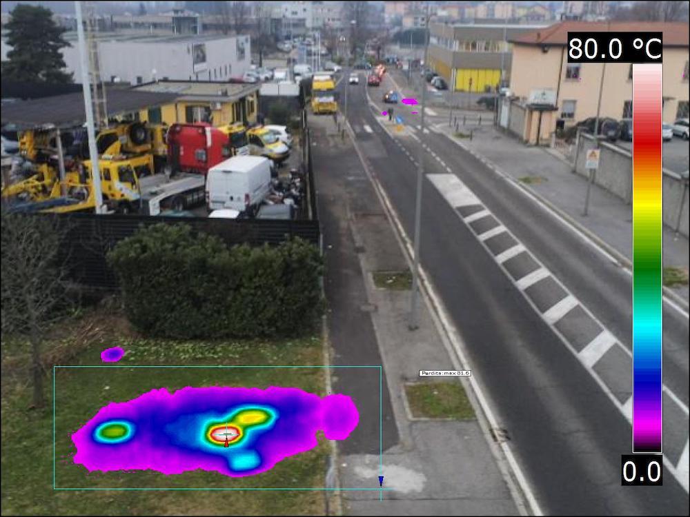 Dasù-termografia-teleriscaldamento-strada-drone