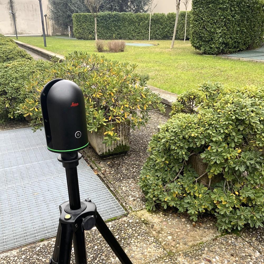 Il nostro Laser Scanner per Rilievi Architettonici