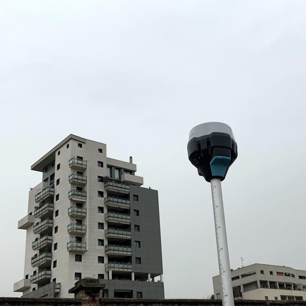 Rilievi Architettonici e Territoriali con Drone e stazione GNSS