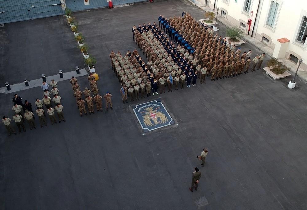 Cerimonia Scuola Militare Teulié (Milano)