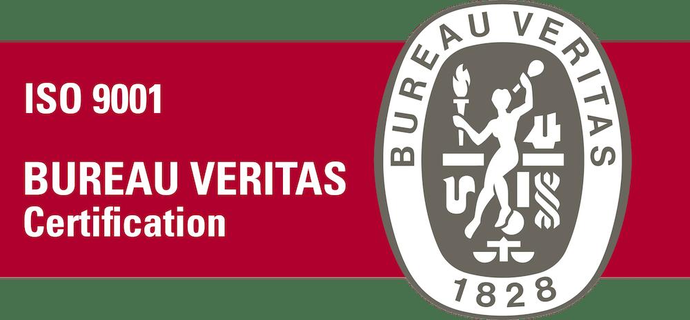 Certificazione ISO 9001 con Bureau Veritas