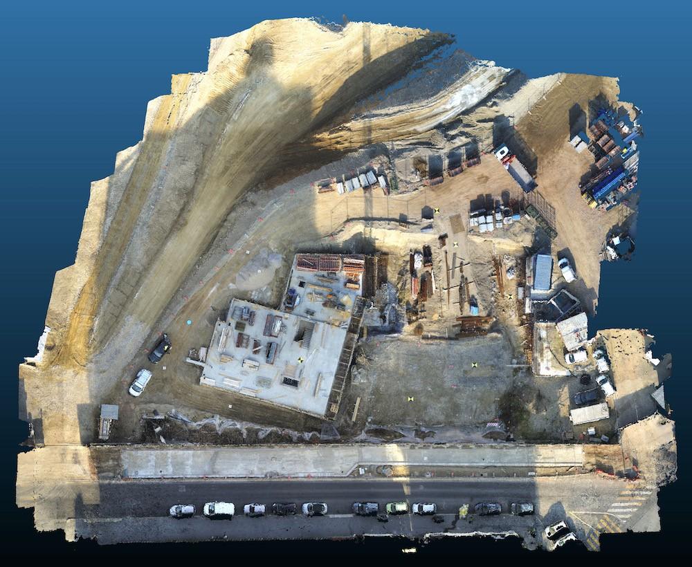 Rilievi in Cantiere Edile con Drone