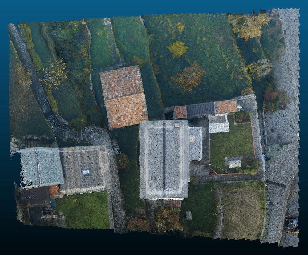 Rilievo di Terreno e Immobili con Drone