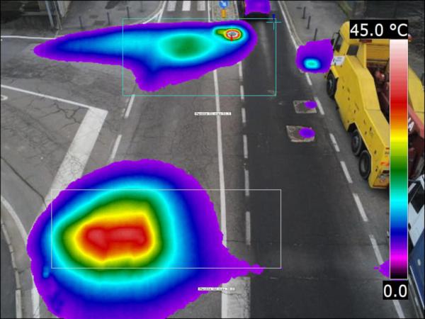 Termografia con drone milano