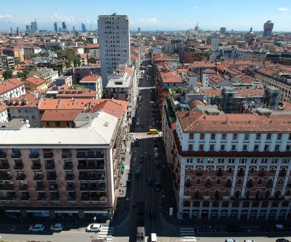 Dasù-Milano-Drone-Corso-Genova