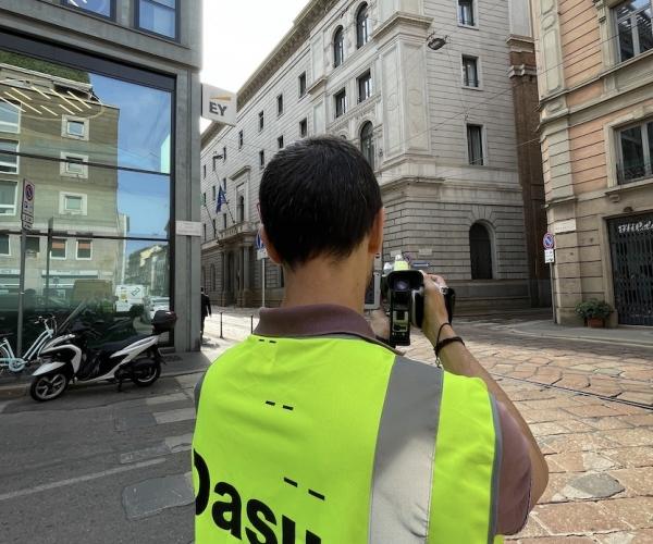 Analisi Termografica della Camera di Commercio di Milano