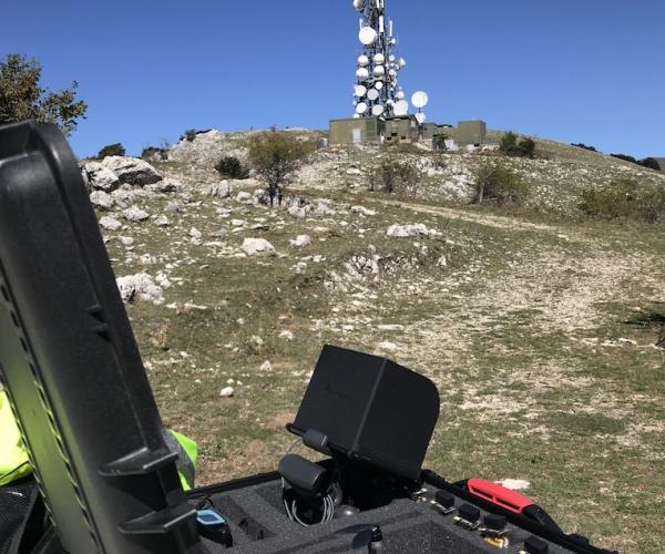 Ispezione Antenna Telefonica con Drone