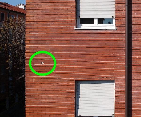 Controllo facciata condominio milanese per C.I.S. (Certificati di Idoneità Statica)