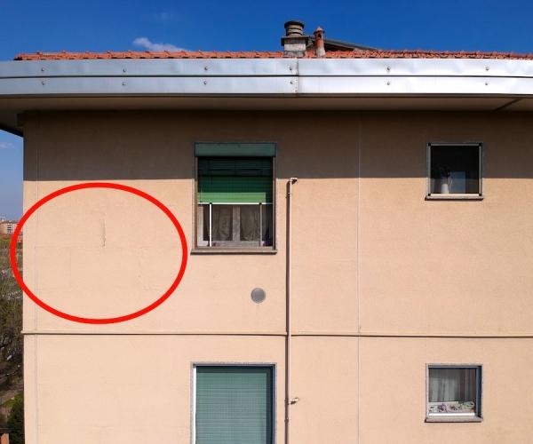 Dasù-certificato-idoneità-statica-drone-facciata-screpolatura