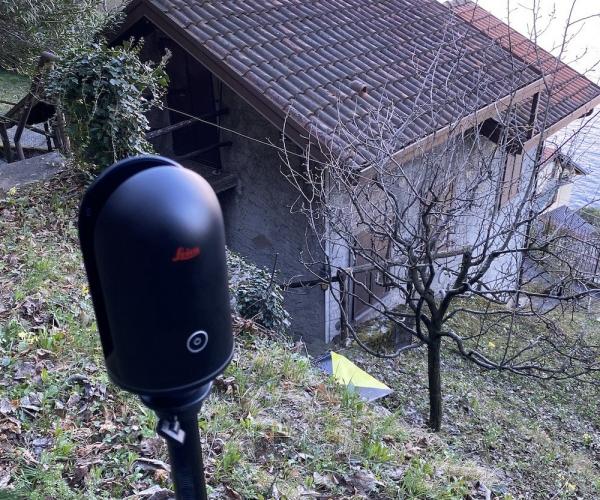 Rilievo con Laser Scanner di una Villa