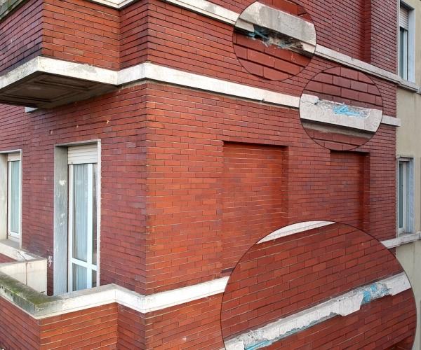 Monitoraggio della Facciata di un Condominio di Milano tramite Drone