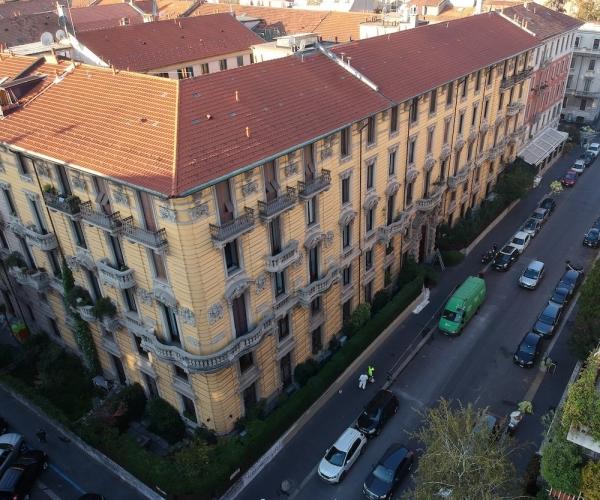 Dasù-promozione-appartamento-milano-drone