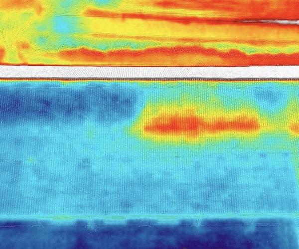 Ricerca Dispersioni Termiche sui Tetti con Drone e Termocamera
