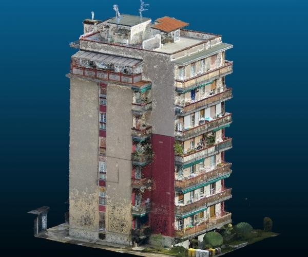 Rilievo Architettonico Condominio con Drone