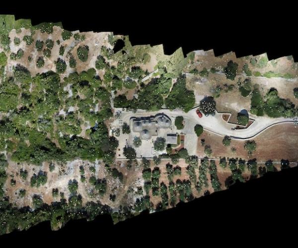 Dasù-rilievo-terreno-uliveto-drone