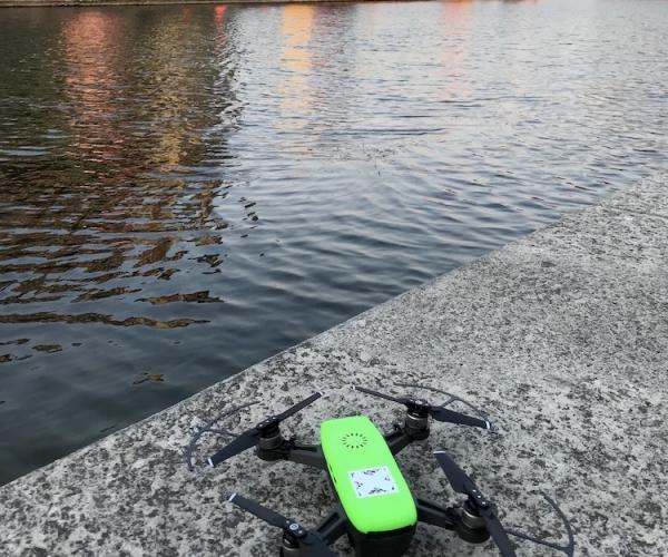 Riprese Aeree con Drone in Darsena (Milano)