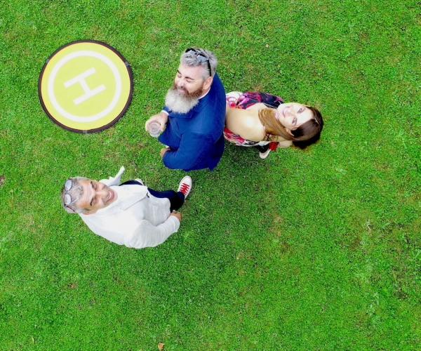 Riprese aeree con Drone ad un Matrimonio