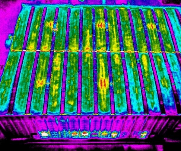 Verifica Dispersioni Energetiche del Tetto con Drone e Termocamera